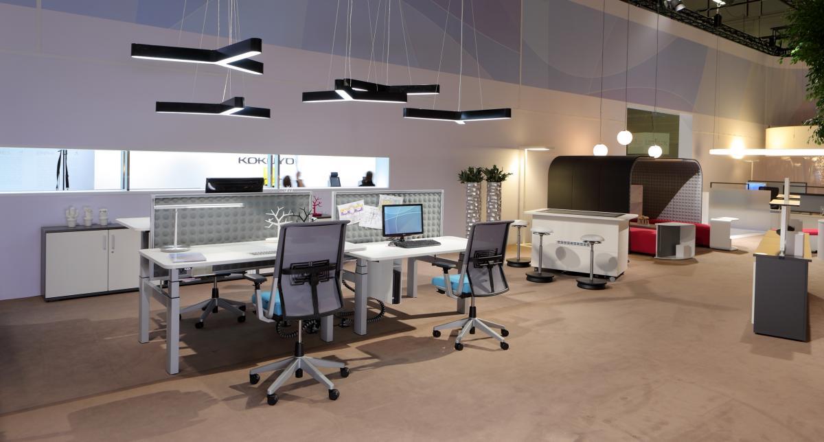 C mo iluminar una oficina voltimum espa a for Ideas de oficinas modernas