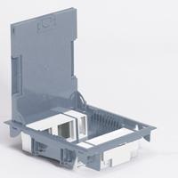 Caja suelo gris 10 modulos cubierta inoxidable legrand for Acuerdo clausula suelo caja espana